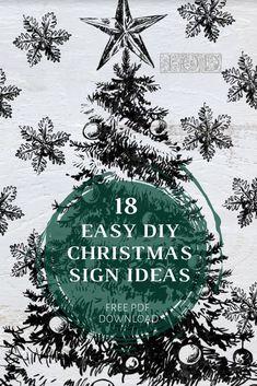 Christmas Words, Christmas Signs Wood, Christmas Past, Christmas Projects, Christmas Holidays, Christmas Ideas, Xmas, Diy Christmas Decorations For Home, Christmas Ornaments To Make