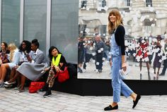 The Street Style Olympics: Vote for the Best Denim Look from Fashion Week – Vogue
