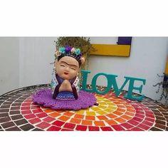 Frida Kalho Buda Bebe Yeso - $ 250,00