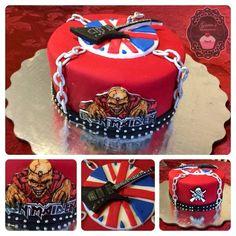 Iron Maiden Cake.