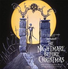 THE NIGHTMARE BEFORE CHRISTMAS SOUNDTRACK.