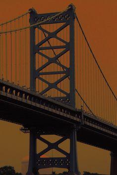 Bridge from Philadelphia to New Jersey