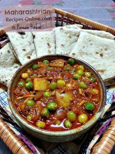 green peas curry marathi recipe