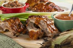 There is no such thing as putting too much T.L.C. in your barbecued ribs. These ribs are fall-off-the-bone delicious!