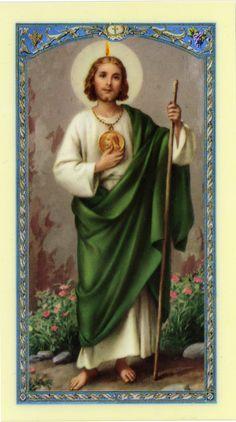 Spiritualité et Sagesse: Prière à Saint Jude, patron des causes perdues.