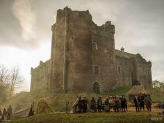 El castillo de Doune,