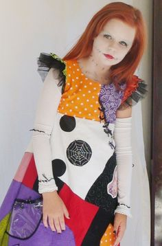 Sally Costume Nightmare Before Christmas for Halloween by liluxe