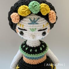Crochet Stitches, Crochet Patterns, Crochet Hats, Half Double Crochet, Single Crochet, Popcorn Stitch, Magic Ring, Art Dolls, Color Change