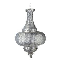 Hängeleuchte aus ziseliertem Metall ohne elektrischen Anschluss D 48 cm ISTANBUL