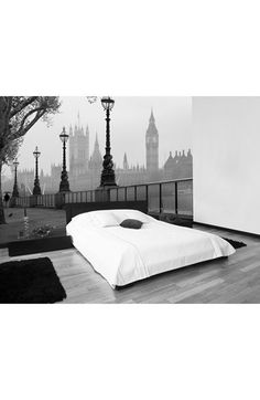 Wallpops 'London Fog' Wall Mural available at #Nordstrom