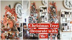 Ribbon On Christmas Tree, Holiday Tree, Christmas Tree Decorations, Christmas Wreaths, Holiday Decor, Hello Everyone, Dressing Recipe, Sage, Holidays
