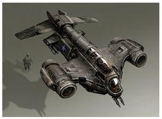 Spacecraft (e. a heavy fighter) Concept