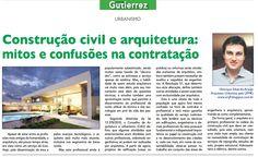 Engenheiro x Arquiteto  http://www.jornaldogutierrez.com.br/