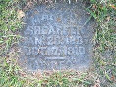 Tombstone Tuesday Mary C (Steidler) Sheaffer –(1837-1910) #genealoy