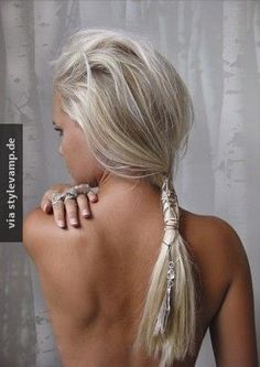 Lege deine Haare in Ketten!