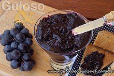Geleia de Uva Diet » Doces e sobremesas, Receitas Saudáveis » Guloso e Saudável