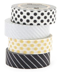 Take a look at this Four-Piece Party Glam Washi Tape Set on zulily today!