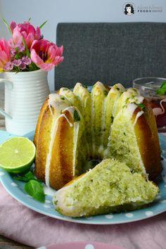 Basilikum-Limetten-Kuchen, Blaubeer-Basilikum-Limonade und Orangen-Ingwer-Marmelade   basil lime cake, blueberry basil lemonade and orange ginger marmelade