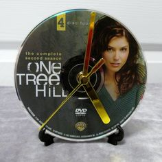 One Tree Hill DVD Clock Upcycled TV Show #3 by DarkStormTV on Etsy