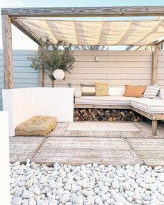 Dutch Gardens, Back Gardens, Outdoor Gardens, Outdoor Lounge, Outdoor Life, Outdoor Living, Outdoor Ideas, Bali Style Home, Outside Room
