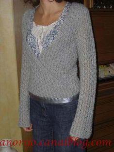 tricoter un cache coeur pour femme
