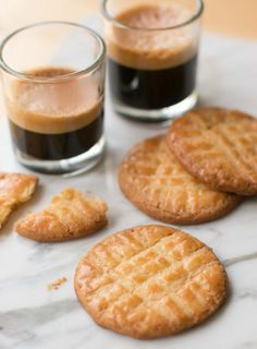 Sable Breton: French butter cookies...made with salted butter!