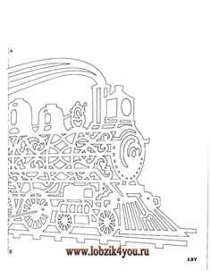Художественное выпиливание .:. Classic Fretwork Scroll Saw Patterns (Sterling 1991 год)_138 go to the site to get the rest of pattern...thought it had downloaded.
