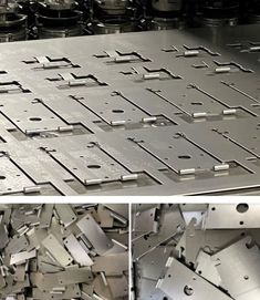 V and F Sheet Metal can use hinge tooling to produce sheet metal components with built in hinge forms. Types Of Sheet Metal, Sheet Metal Work, Bespoke Design, Metal Working, Cnc, Things To Come, Custom Design, Sheet Metal Shop, Metalworking