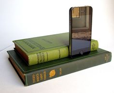 The bookworm in me just LOVES this. The gadget lover loves it, too. :)