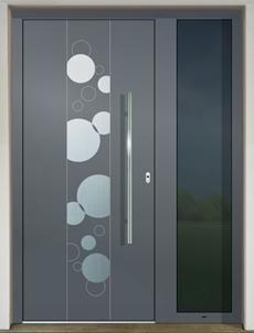 GAVA 484a FD RAL 7011 vchodové dvere
