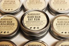 Newest scent to my stock. #bayrum #beardology #beardbalm www.pomade.com