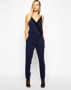 Karen+Millen+Soft+Tailored+Jumpsuit