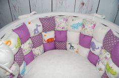 Crib bumper baby bedding baby cot bumper baby от nastyastudio