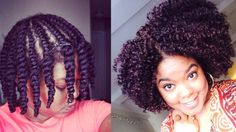 Natural Hair | Updated Flat-Twist Out