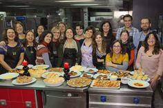 Workshop Doces de Natal em 29 de Novembro de 2014 em Lisboa.