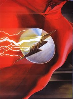 super-nerd:  Green Lantern & Flash - Alex Ross