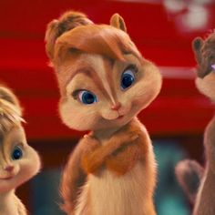 Alvin and the Chipmunks 2 Image: Chipettes Alvin And Chipmunks Movie, Alvin Und Die Chipmunks, Cute Disney Wallpaper, Cartoon Wallpaper, Baby Chipmunk, The Chipettes, I Love Pic, Face Painting Designs, Clothes Pictures