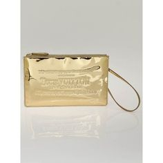 4982173bf4c2 Louis Vuitton Limited Edition Gold Monogram Miroir Pochette Bag