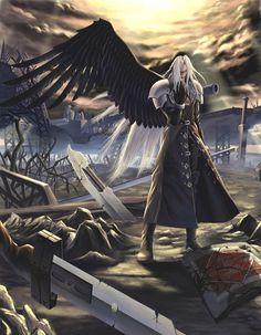apparentlyfanart:  Source, please do not remove:Sephirothby Diamond Dust [pixiv]