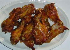 Orange Wings Recipe