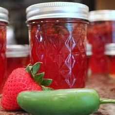 Easy Homesteading: Jalapeno Strawberry Jam Canning Recipe