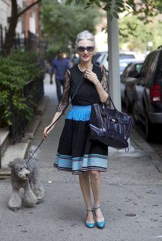Beauty guru Linda Rodin/ADVANCED STYLE: August 2012