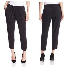 NWT Rich & Skinny Gwen Crop Pants Black •65% Tencel/35% Rayon •Made in the USA and Imported •Machine Wash •Good addition to your spring wardrobe. Wear it with a great pair of heels or flats. Item Location Bin D1 ✅Offers✅Bundle discount✅  No TradesNO Off Posh Transactions Rich & Skinny Pants Ankle & Cropped