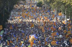 El Món | La manifestació de la Diada a Barcelona II