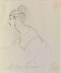 Albertini circa 1832 by Queen Victoria, Queen of the United Kingdom (1819-1901)