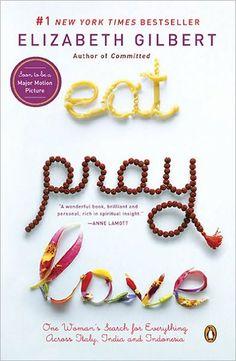 music, books, elizabeth gilbert, eat love pray book, inspir