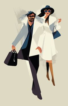 Harrods - Fashion Illustrations