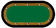 How to Build a Racetrack Poker Table