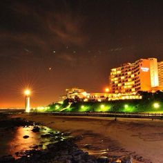 Durban at night. Awesome pic by Righteous Photography