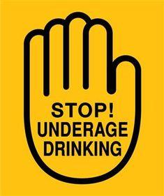 Anti underage drinking fill
